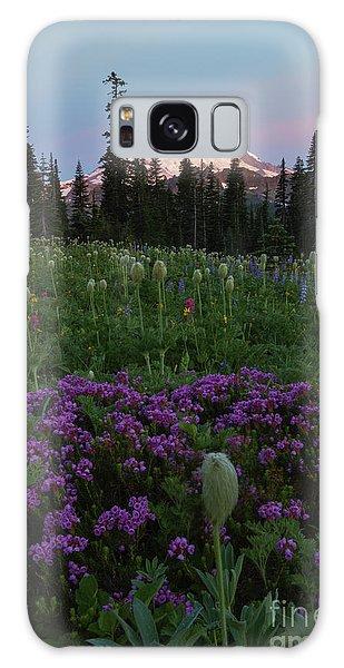 Heather Galaxy Case - Rainier Pastel Dawn by Mike  Dawson