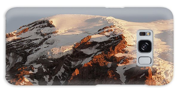 Rainier Summit Galaxy Case by Sharon Seaward