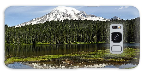 Rainier's Reflection Galaxy Case by Tikvah's Hope