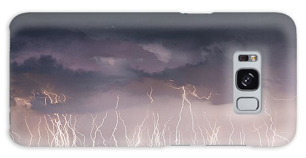 Raining Electricity Galaxy Case
