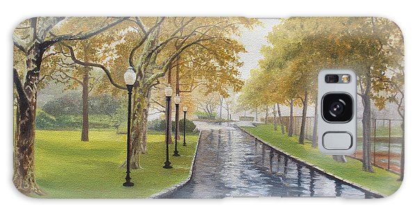 Rainy Afternoon At Montauk Galaxy Case by Barbara Barber