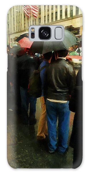 Rainy Afternoon On Broadway Galaxy Case