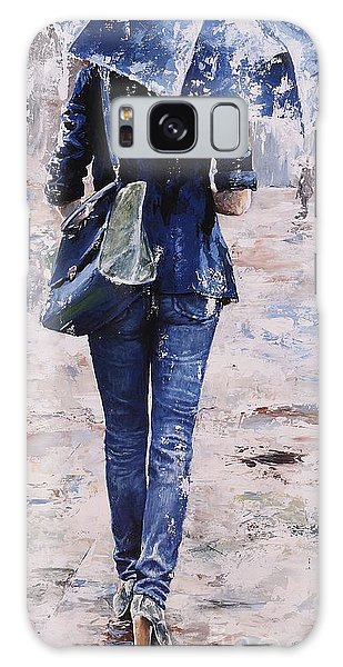 Rainy Day #22 Galaxy Case by Emerico Imre Toth