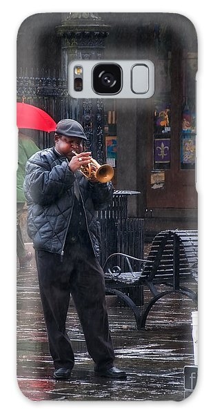 Rainy Day Blues New Orleans Galaxy Case