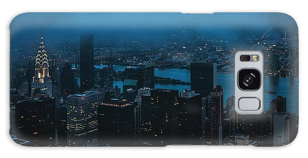 Usa Galaxy Case - Rainy Day In The City by Pavol Stranak