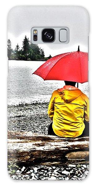 Rainy Day Meditation Galaxy Case