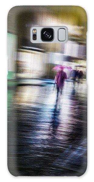 Rainy Streets Galaxy Case by Alex Lapidus