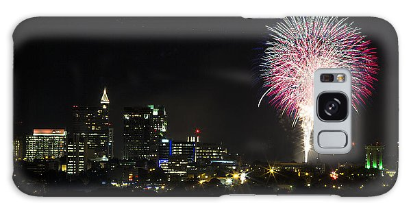 Galaxy Case - Raleigh Fireworks Finale by Frank Savarese