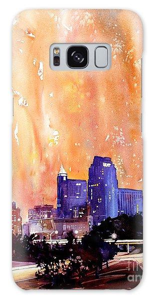 Raligh Skyline Sunset Galaxy Case