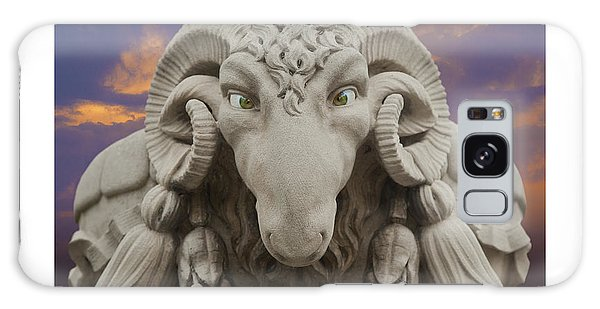 Ram A Sees Naturally Stoned Poster Galaxy Case by David Davies