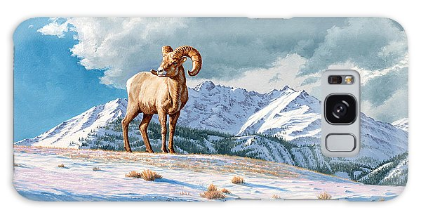 Montana Galaxy Case - Ram And Electric Peak by Paul Krapf