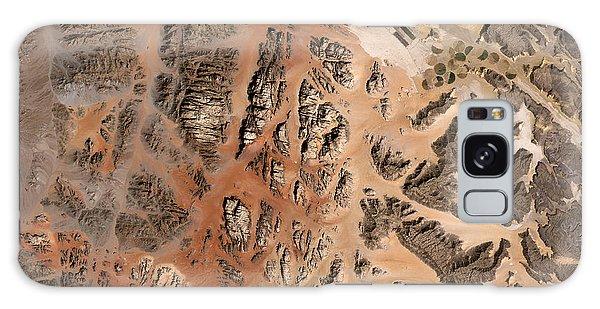 Contour Galaxy Case - Ram Desert Transjordanian Plateau Jordan by Anonymous