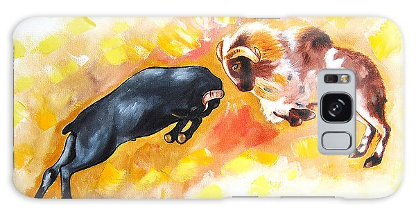 Ram Fighting... Galaxy Case by Ragunath Venkatraman