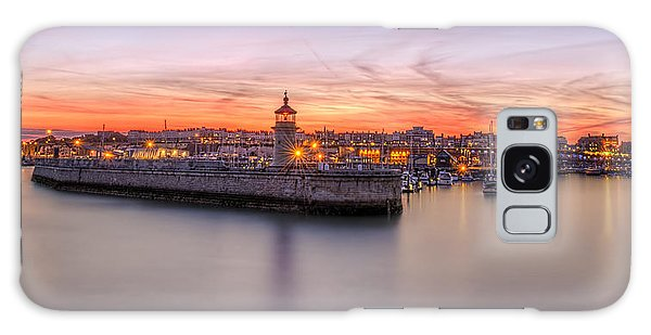 Ramsgate Harbour Summer Sunset  Galaxy Case