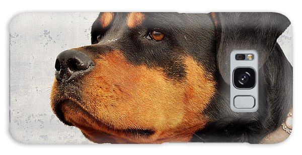 Ranch Dog On Watch Galaxy Case by Kae Cheatham