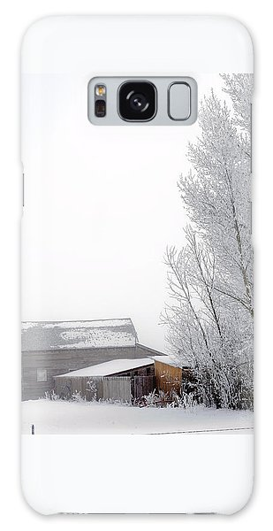 Ranch In Frozen Fog Galaxy Case by Kae Cheatham
