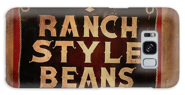 Ranch Style Beans Galaxy Case