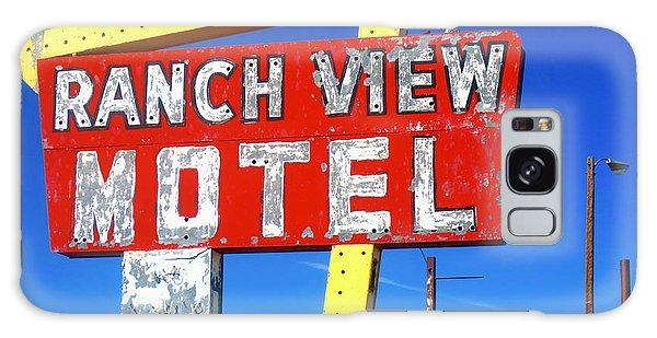 Ranch View Motel Galaxy Case
