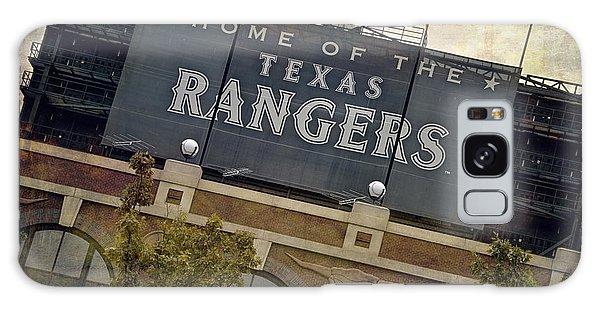 Galaxy Case featuring the photograph Rangers Ballpark In Arlington Color by Joan Carroll