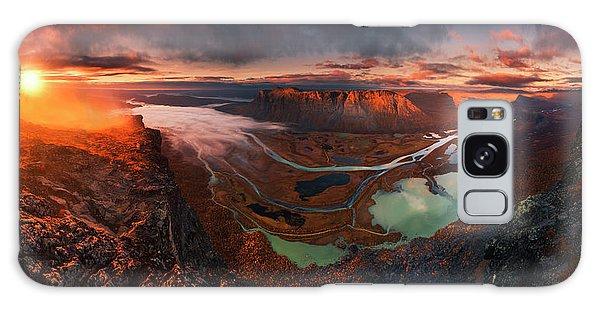 Sweden Galaxy Case - Rapa River Delta by Karol Nienartowicz