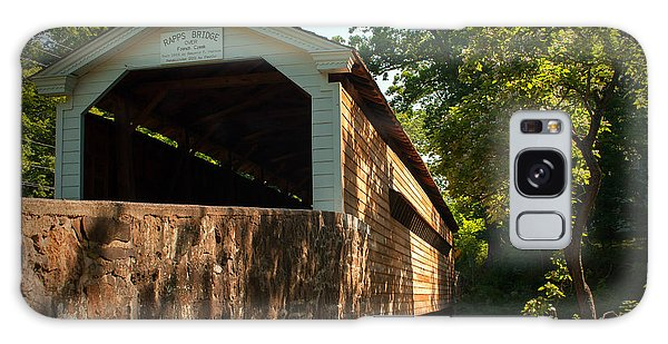 Rapps Covered Bridge Galaxy Case by Michael Porchik
