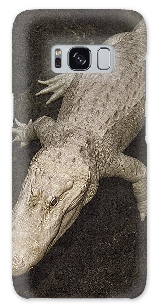 Rare White Alligator Galaxy Case