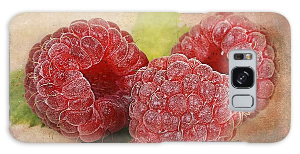 Raspberries  Galaxy Case by Barbara Orenya