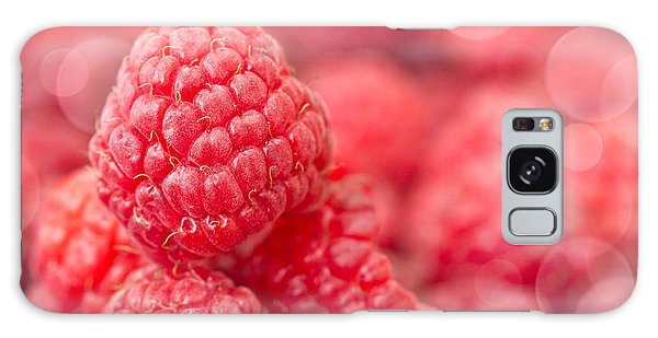 Raspberry Galaxy S8 Case - Raspberry by Delphimages Photo Creations