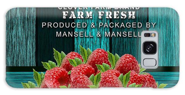 Raspberry Farm Galaxy Case by Marvin Blaine