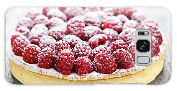Raspberry Tart Galaxy Case