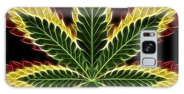 Fractal Design Galaxy Case - Rasta Marijuana by Adam Romanowicz