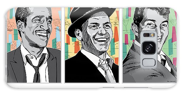 Rat Pack Pop Art Galaxy Case