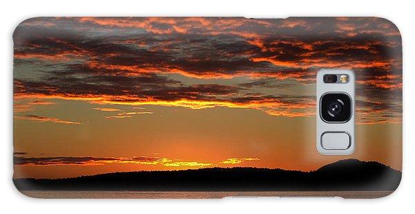 Rathtrevor Sunrise Galaxy Case