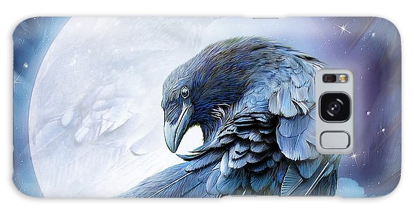Raven Moon Galaxy Case