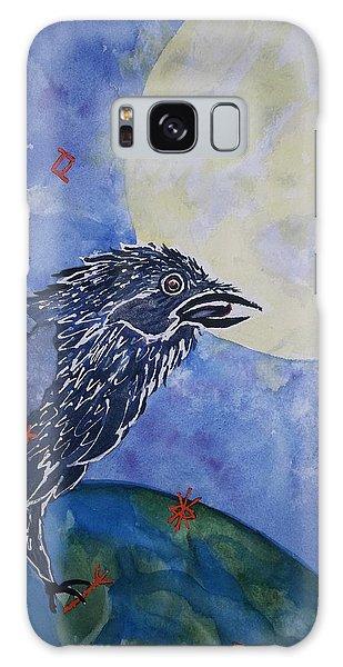 Raven Speak Galaxy Case by Ellen Levinson