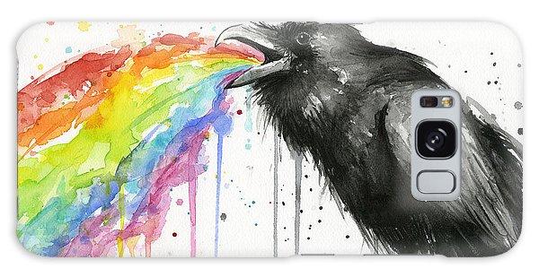 Rainbow Galaxy Case - Raven Tastes The Rainbow by Olga Shvartsur