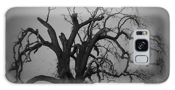 Raven Tree Galaxy Case