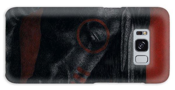 Raven Wing Galaxy Case by Pat Erickson