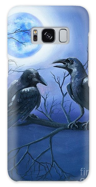Raven's Moon Galaxy Case