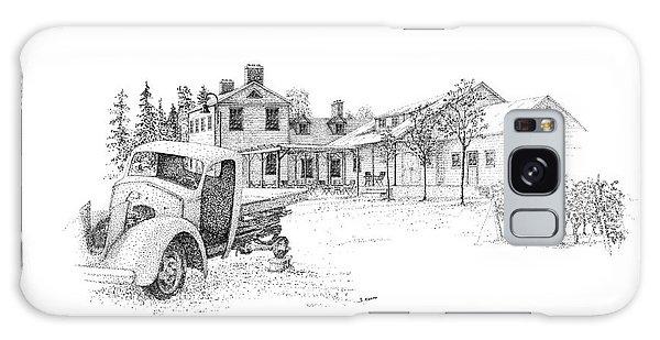 Old Truck Galaxy Case - Ravine Winery by Steve Knapp