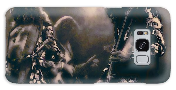 Led Zeppelin Galaxy S8 Case - Raw Energy Of Led Zeppelin by Daniel Hagerman