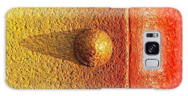 Raw Steel Galaxy Case by Tom Druin