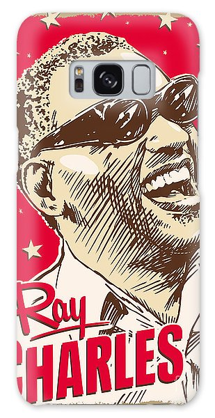 Ray Charles Pop Art Galaxy Case