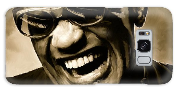 Ray Charles - Portrait Galaxy S8 Case