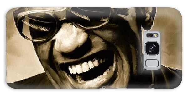 Rhythm And Blues Galaxy S8 Case - Ray Charles - Portrait by Paul Tagliamonte
