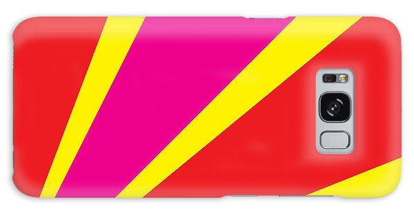 Vector Galaxy Case - Rays Of Color Pink And Red by Vector Goodi
