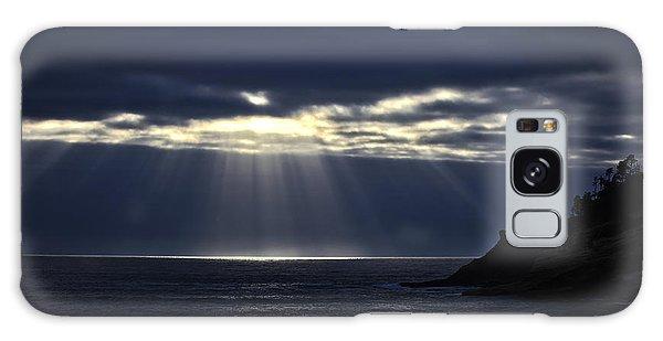 Rays Of Hope At Cape Kiwanda Oregon Galaxy Case