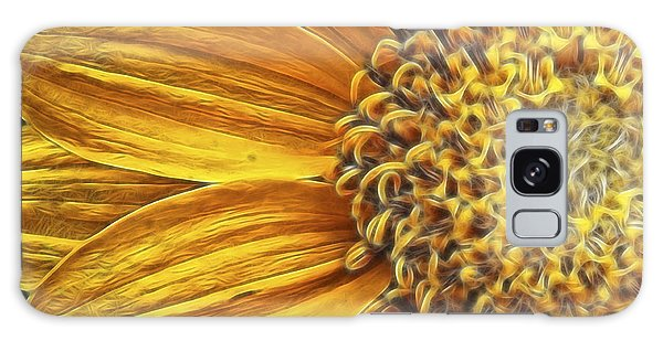 Rays Of Sunshine Galaxy Case by Beve Brown-Clark Photography