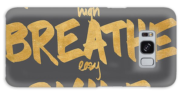 Breathe Galaxy Case - Reach, Breathe, Smile by South Social Studio