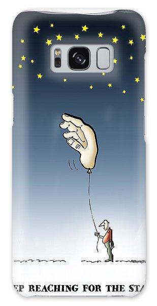 Reach For The Stars Galaxy Case